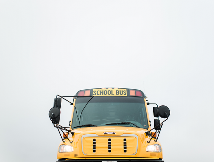 Apple Bus - Preparing for a First Day of School Across Alaska's Kenai Peninsula